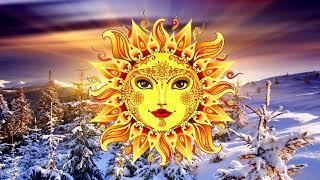 Бог времени Коляда — олицетворение возрождённого зимнего Солнца