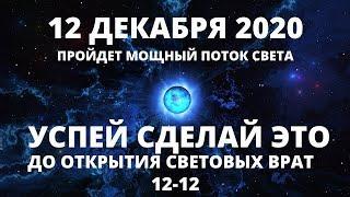 ВАЖНО! УСПЕЙТЕ СДЕЛАЙТЕ ЭТО ДО 12 ДЕКАБРЯ 2020. РЕКОМЕНДАЦИИ ПЕРЕД ПОРТАЛОМ 12-12.